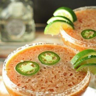 Bloody Margarita - a cross between a bloody Mary and a margarita! #cocktail   honeyandbirch.com  