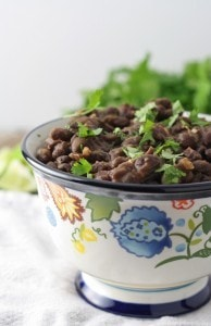 Seasoned Black Bean Side Dish
