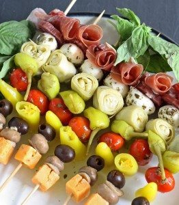 Antipasto Skewers Recipe – Italian Appetizers