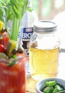 Homemade Pepper Jalapeno Liqueur – Perfect for Bloody Marys
