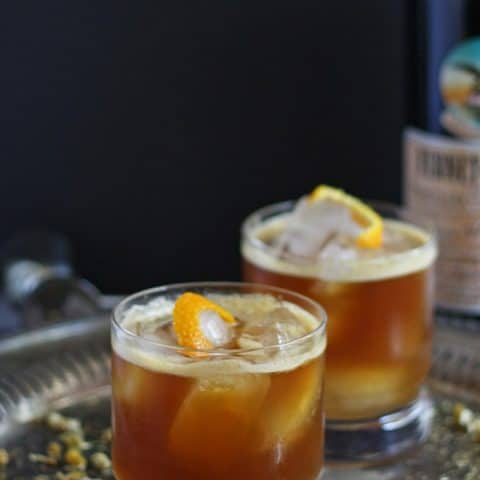 Orange Italian Mule - Fernet Braca Cocktail