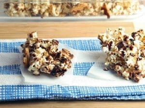 S'mores Popcorn Bars at Craftaholics Anonymous