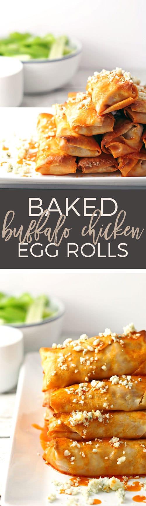 buffalo chicken egg rolls long pin