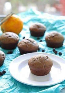 Chocolate Orange Muffins | honeyandbirch.com