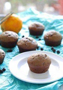 Chocolate Orange Muffins | honeyandbirch.com