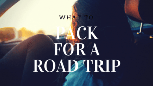 What To Pack For a Road Trip and a Fisher Nut Exactly Giveaway {Sponsored}
