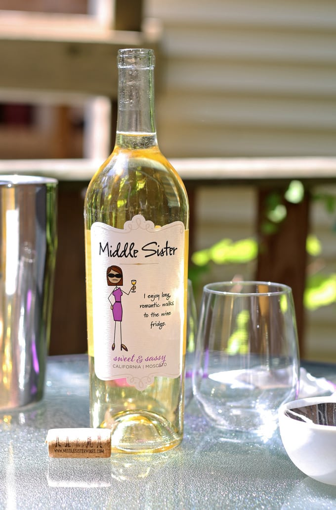 Celebrating My Middle Sister with Middle Sister Wine #MiddleSister #DropsofWisdom #sponsored | honeyandbirch.com