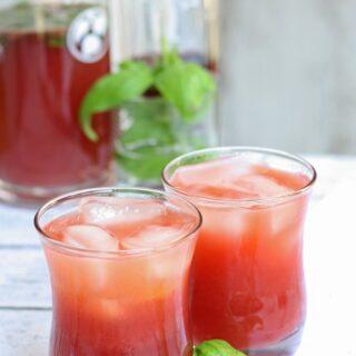 PAMA Sunrise Punch - perfect for summer parties! #PAMACelebrateSummer #sponsored | honeyandbirch.com
