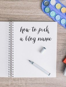 How to Pick a Blog Name with Name.Kitchen