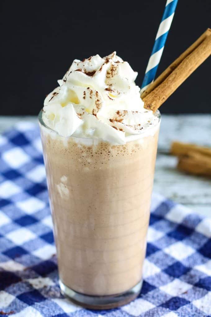 one Mexican chocolate milkshake