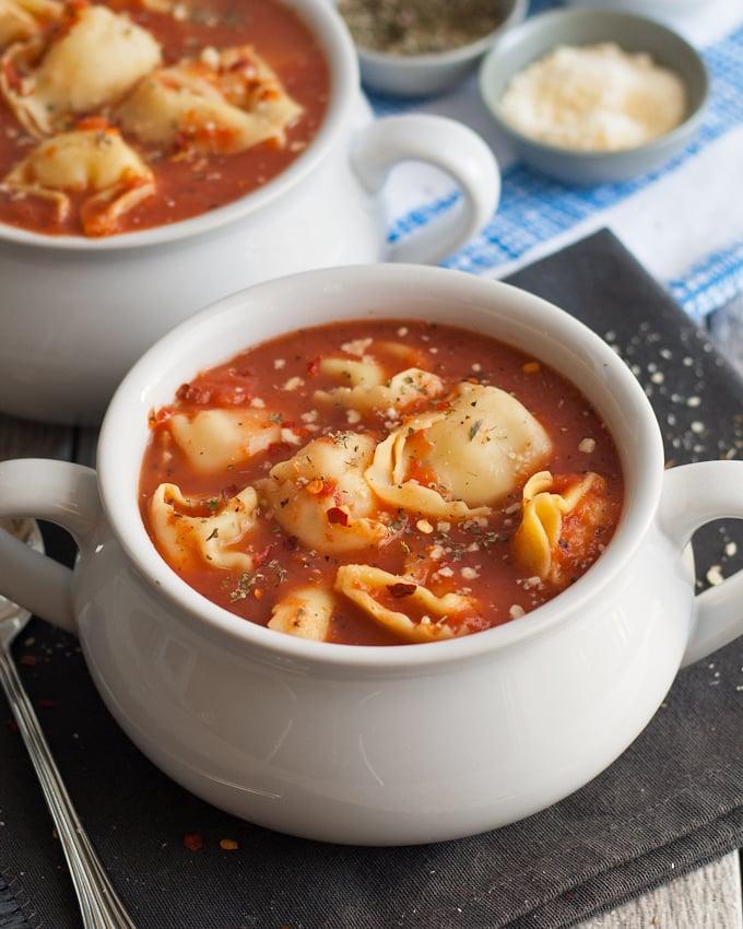 5 Recipes Using Canned Tomatoes | honeyandbirch.com
