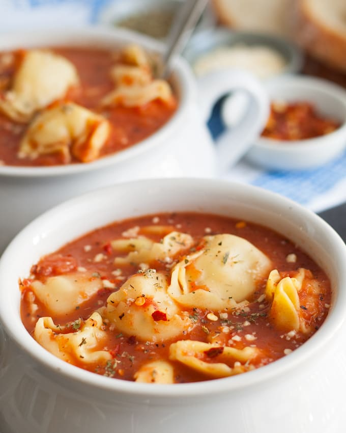 3 Ingredient Tomato Tortellini Soup picture
