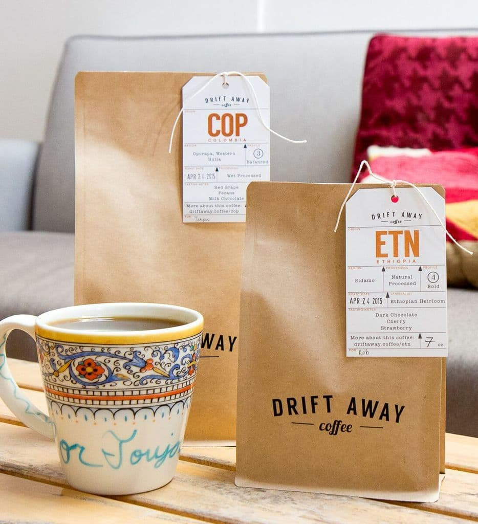 Driftaway Coffee: How Name.Kitchen can help make your online business stand out!