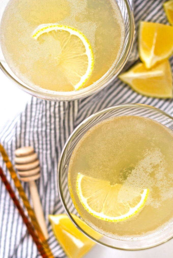 The bee sting cocktail is a spicy riff on The Bee's Knees. You'll be adding this easy to make, buzz-worthy drink to your list of favorite cocktails!   honeyandbirch.com
