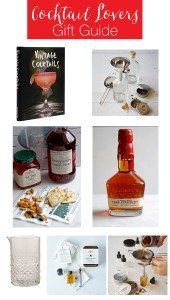 Cocktail Lovers Gift Guide 2015 - perfect for cocktail lovers, hosts and the everyday entertainer! | honeyandbirch.com