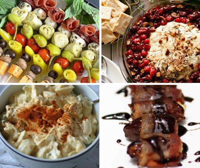 4 easy last minute holiday appetizer! | honeyandbirch.com