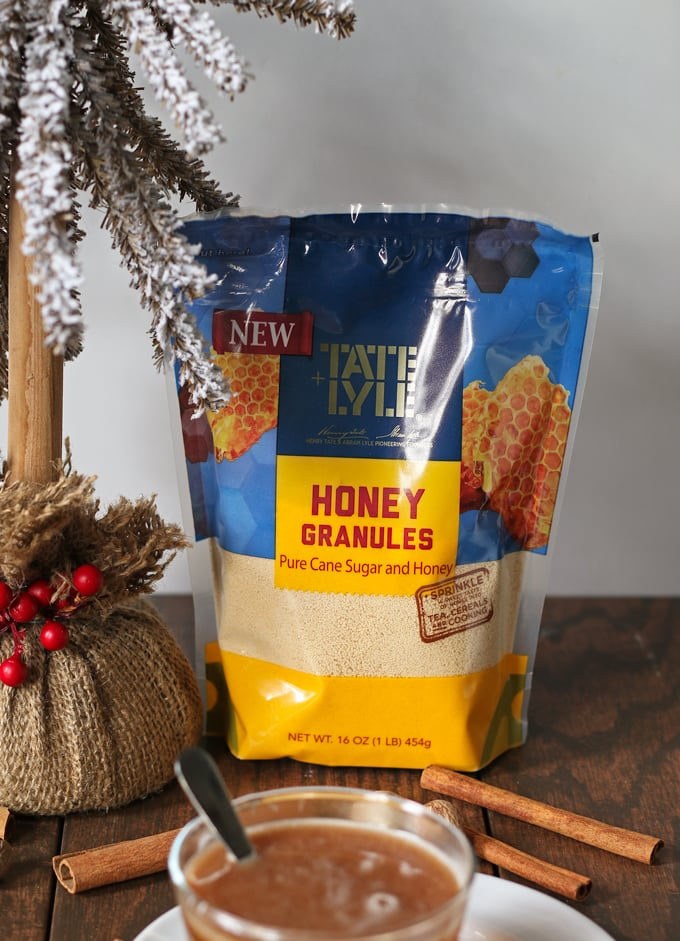 Honey buttered rum is the perfect holiday drink! It has all of the warmth and spice of hot buttered rum with the addition of my favorite ingredient - honey!   honeyandbirch.com