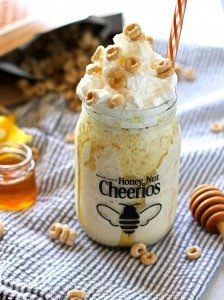 Honey Nut Cheerios Milkshake Recipe and Cheerios Live Honey Event