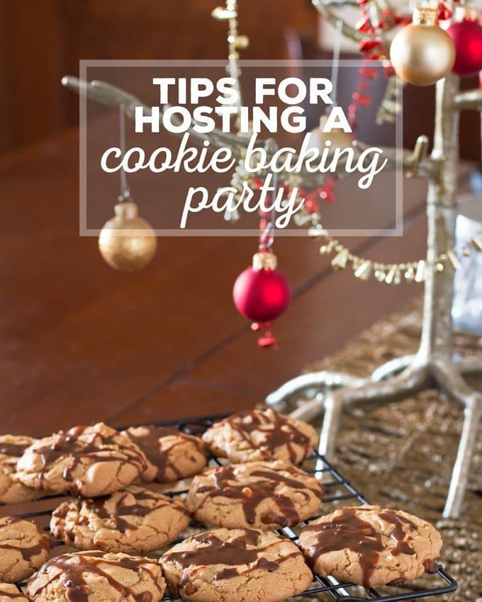 Tips for Hosting a Cookie Baking Party and a shopping list you can print out to take with you to the store!   honeyandbirch.com