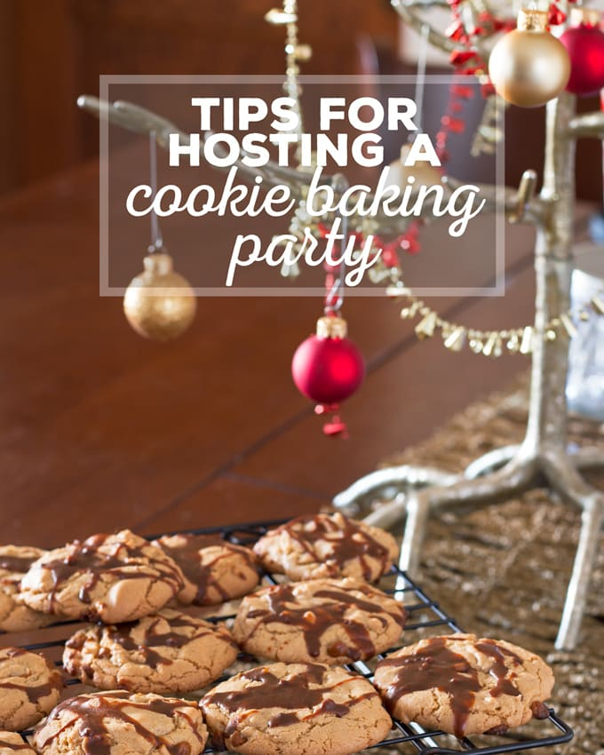 Tips for Hosting a Cookie Baking Party and a shopping list you can print out to take with you to the store! | honeyandbirch.com