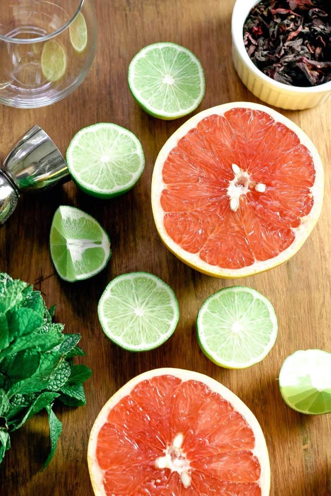 grapefruit hibiscus margarita recipe ingredients