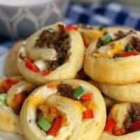 Sausage Pinwheel Appetizer