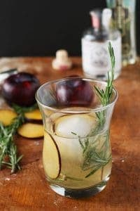 Rosemary's Plum Gin Cocktail
