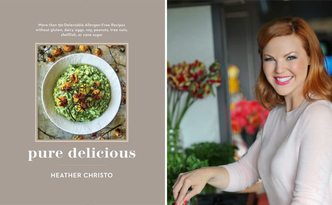 "The new book ""Pure Delicious"" by Heather Christo."