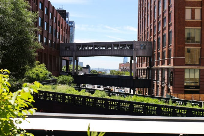View from The High Line | Miele Culinary Adventure
