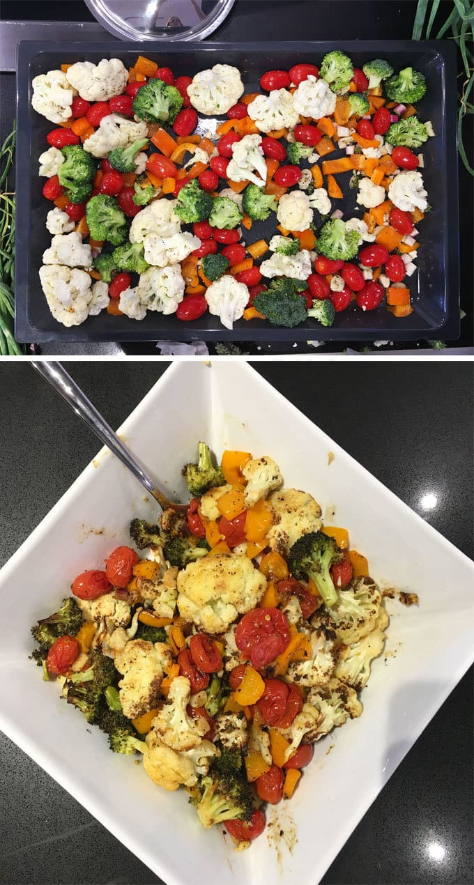 Veggie Before and After | Miele Culinary Adventure