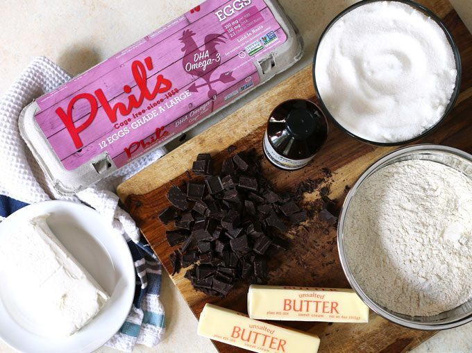 cream cheese fudge brownie ingredients