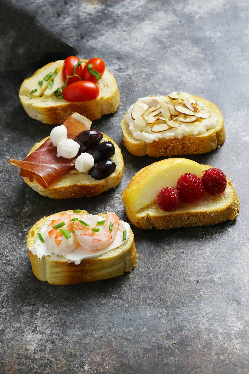 5 crostini to pair with Frappato