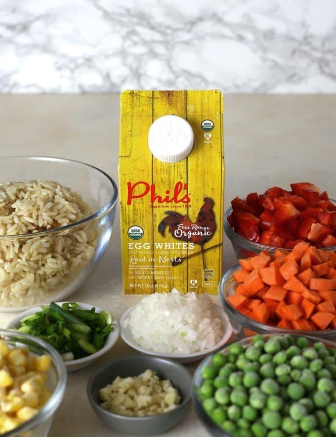veggie fried rice ingredients