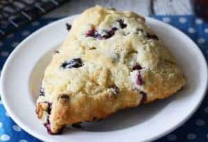 Blueberry Chocolate Scones and the Miele CM6