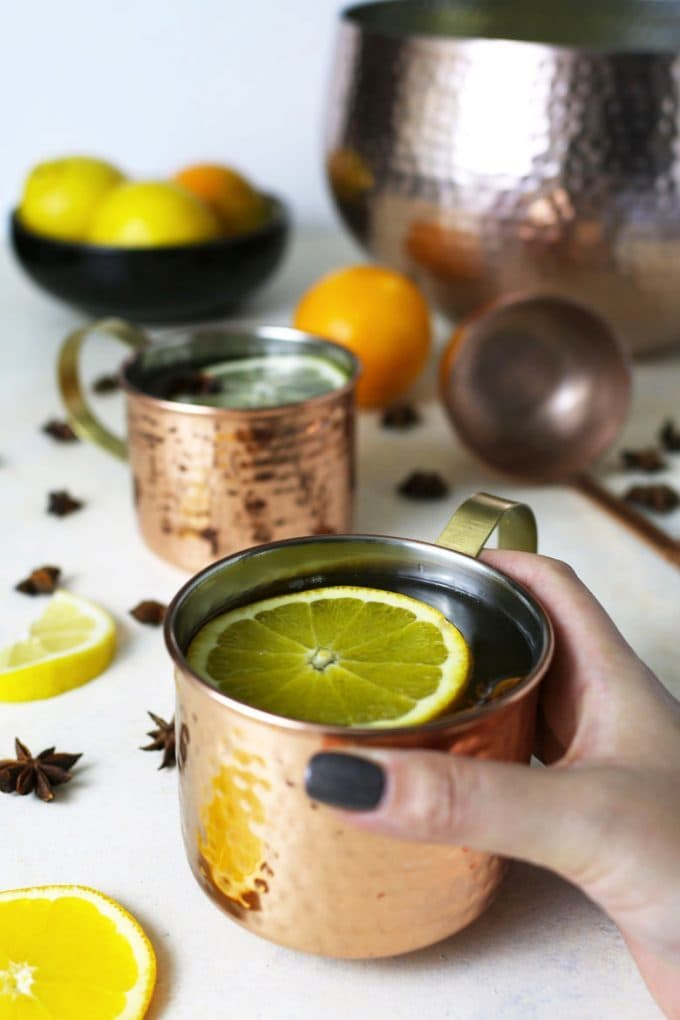 photo of ginger citrus punch recipe
