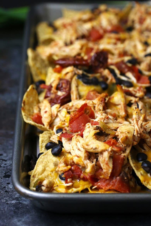 Sheet pan nachos photo