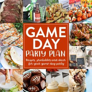 Game Day Party Plan