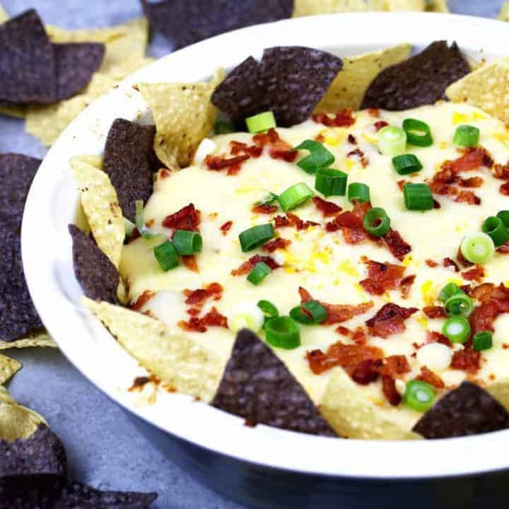 Chipotle Bacon Corn Cheese Dip
