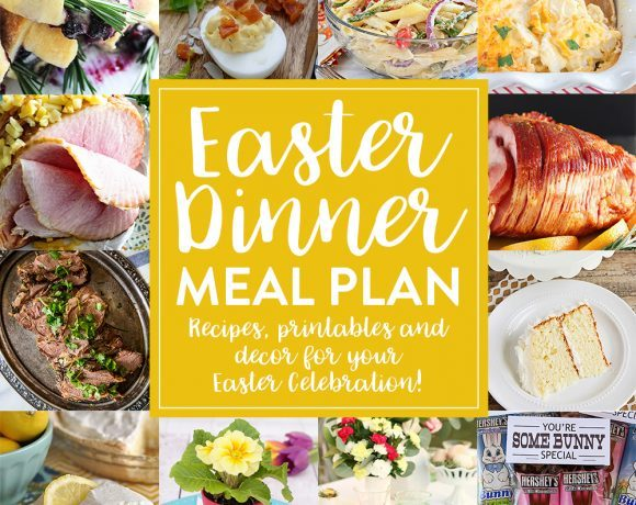 Easter Dinner Meal Plan