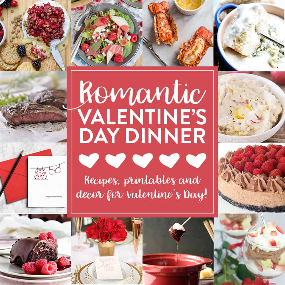 Romantic Valentine's Day Dinner Plan