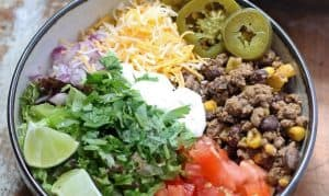 Loaded Burrito Bowls