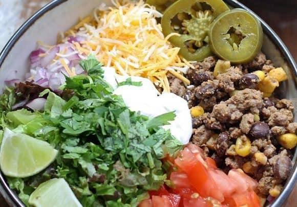 Loaded Burrito Bowls
