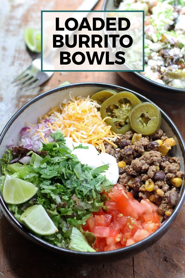 loaded burrito bowls pin