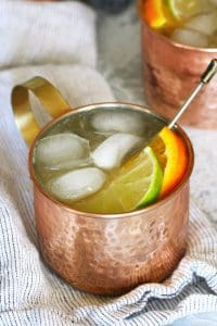 An orange moscow mule is the perfect cocktail for any day of the week. You only need 4 ingredients and a thirst for citrus!