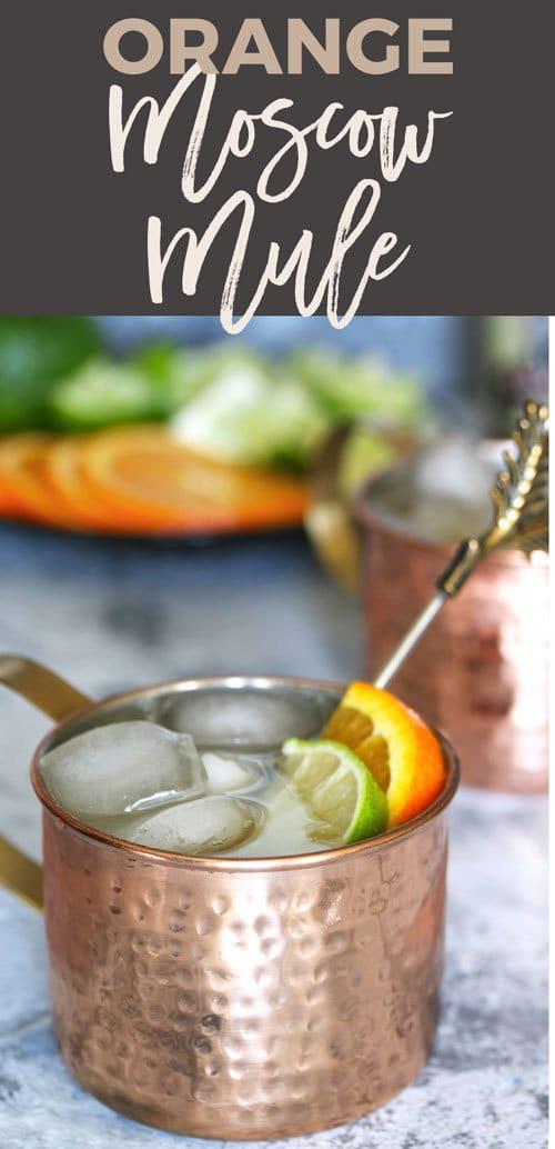 pin orange Moscow mule