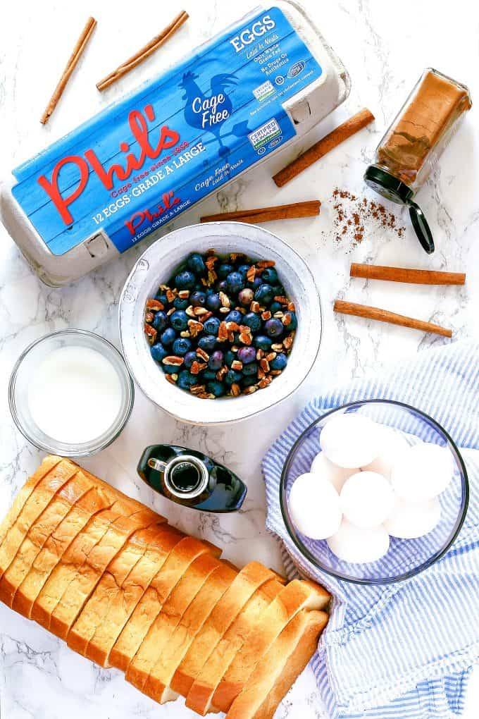 cinnamon French toast ingredients