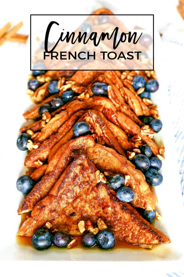 cinnamon French toast Pinterest image