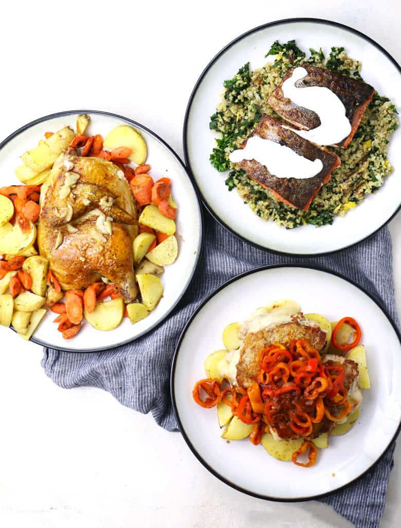 The Perfect Date Night - Stay In and Cook Together! a week of Blue apron meals