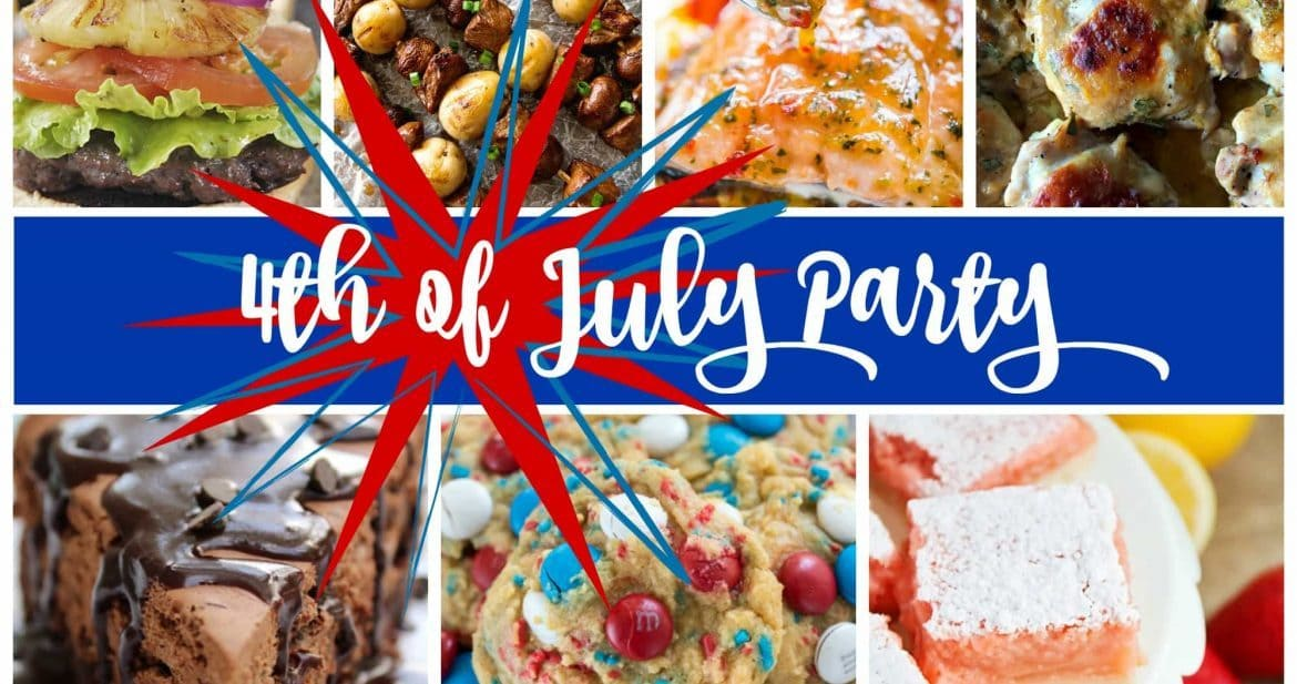 4th of July Party Meal Plan