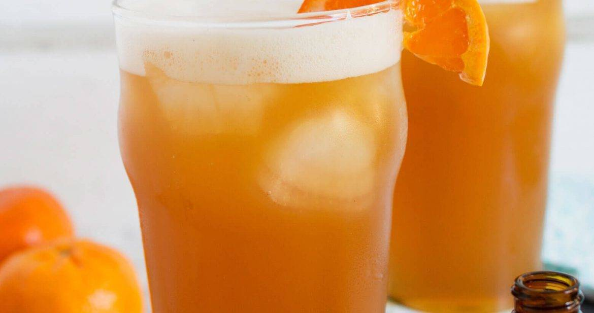 This orange bourbon beer cocktail is your new favorite summer drink. Pair it with a burger or some Italian sausage for a great summer BBQ.